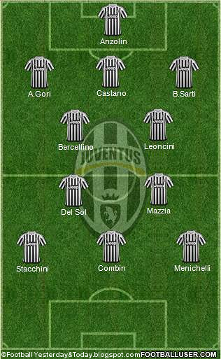 football yesterday today juventus xi in european cups finals all time xi juventus xi in european cups finals