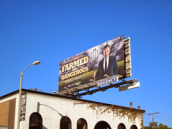 Farmed and Dangerous billboard Sunset Strip