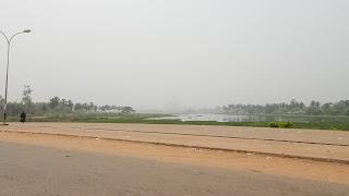 Visible from half kilometer away