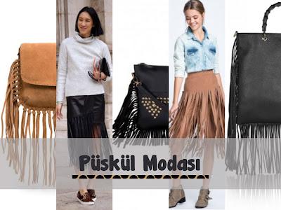 2014 - 2015 Kış Püskül Modası