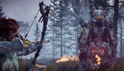 The Frozen Wilds, Horizon Zero Dawn, Defeat Machine, Scorcher