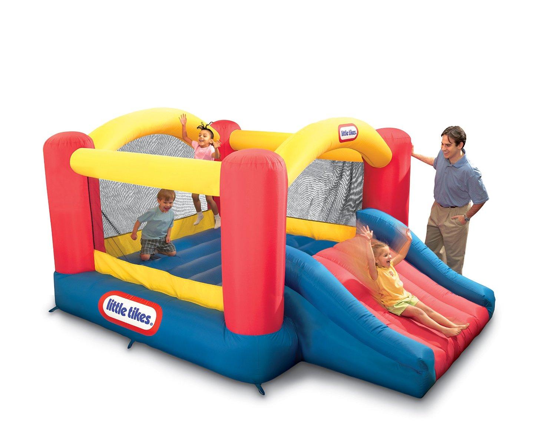 763a5464211d Bli  Little Tikes Jump n Slide Bouncer