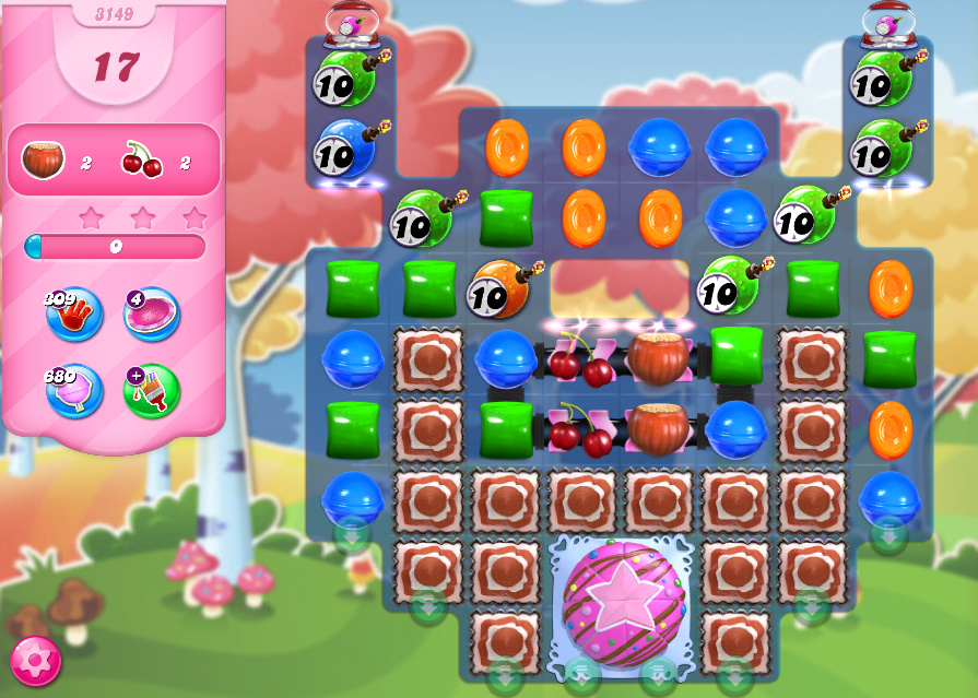 Candy Crush Saga level 3149