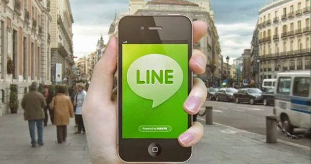 line Free calling Application for Android Mobile Phone image photo