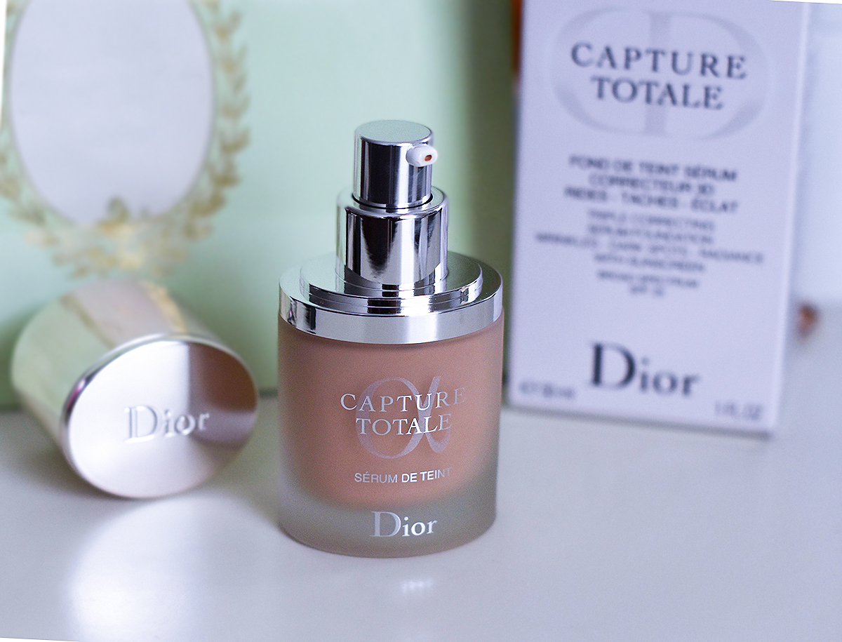 dior capture totale serum de teint review nina 39 s style blog. Black Bedroom Furniture Sets. Home Design Ideas