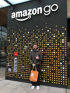 See Aaron & Meg at Amazon Go Store Video :)