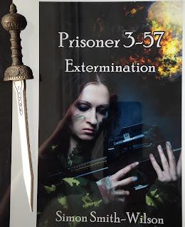 Portada del libro Prisioner 3-57: Extermination, de Simon Smith-Wilson