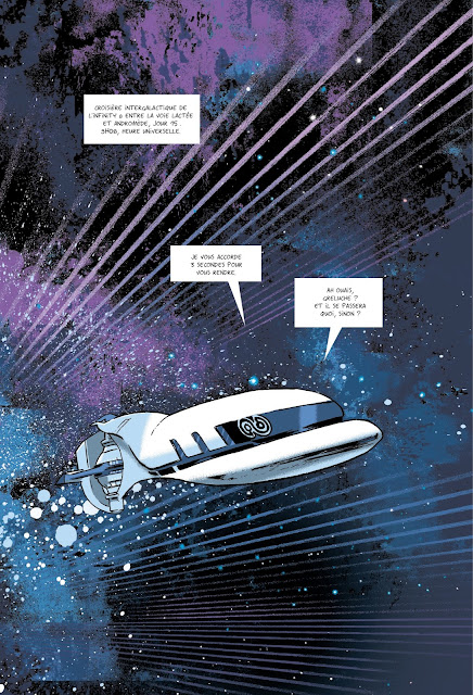 """Infinity 8 Tome 3 """"L'évangile selon Emma"""" Rue de Sèvres page 2"""