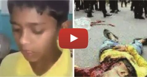 VIDEO: Dibantai Oleh Tentara Myanmar, Lantunan Al Qur'an Bocah Ini Hanya Tinggal Kenangan