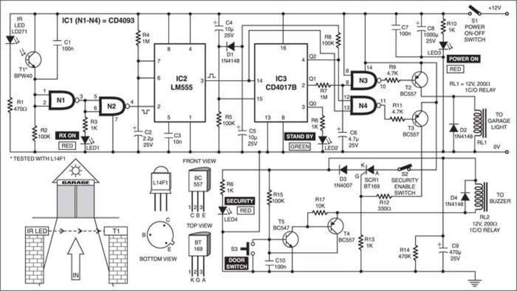 figure 9 a solar powered light wiring diagram