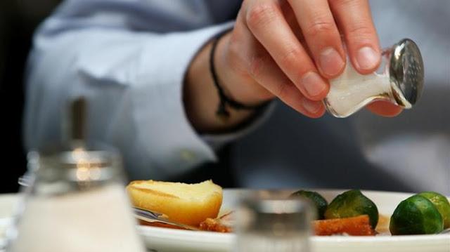 Bahaya makan garam berlebihan
