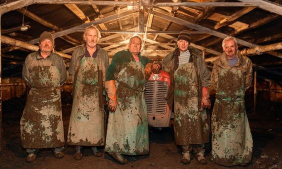 Rhubarb Workers Photo Martin Parr