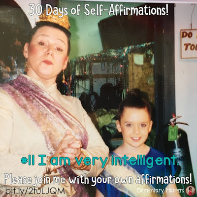 "30 Days of Self-Affirmations: Day 11: I am very intelligent! For 30 days, I will be celebrating my own ""new year"" with self-affirmations. If you are interested in joining me, feel free to  write your own affirmations here, or  respond on my social media  http://bit.ly/2tuLJQM"