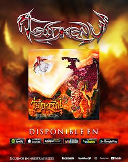 Distribución musical en internet de la banda de rock Tsidkenu