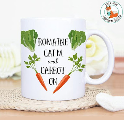 Carrot Coffee Cup