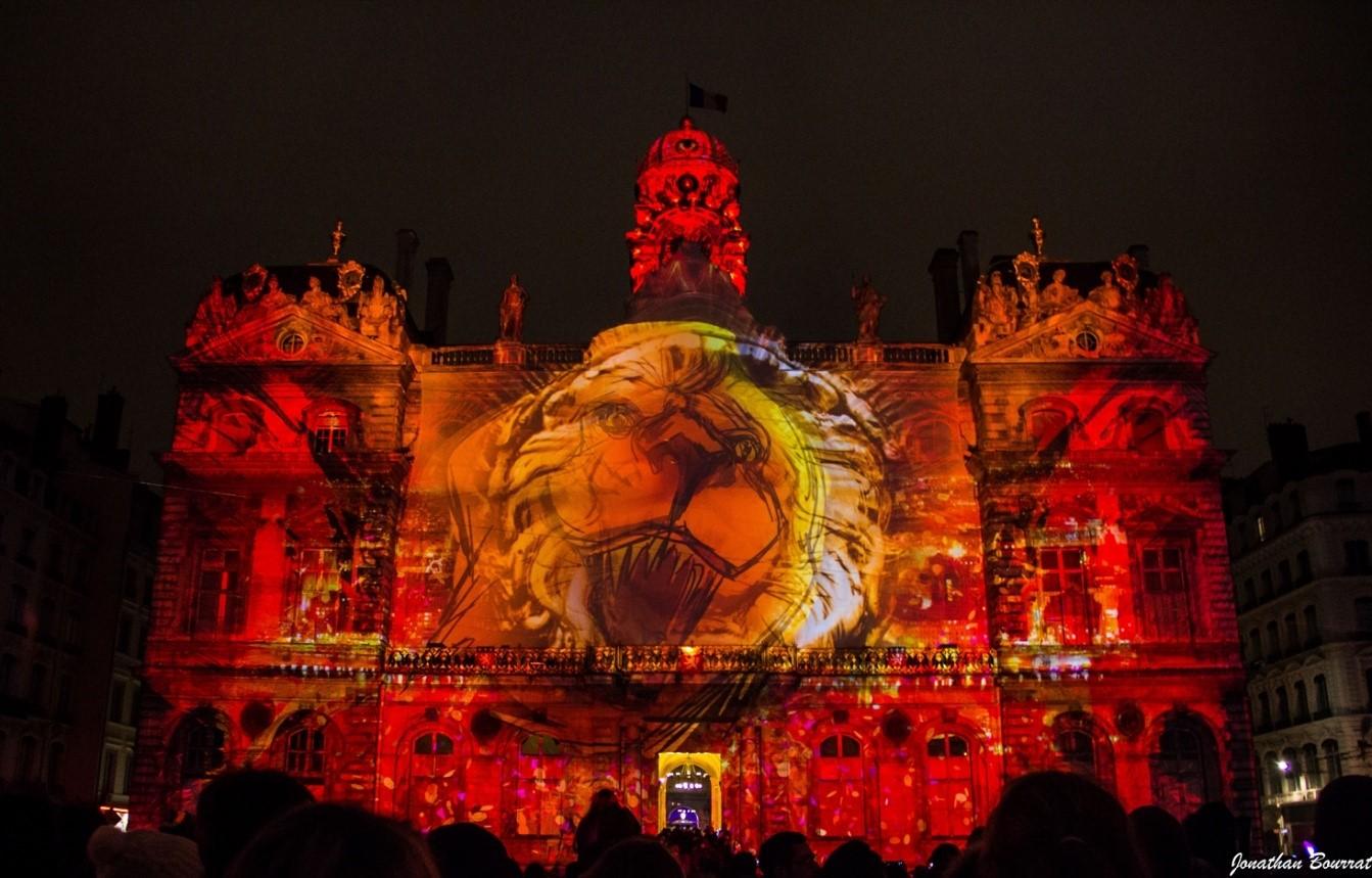 Fête des Lumières Lyon - Hôtel de ville