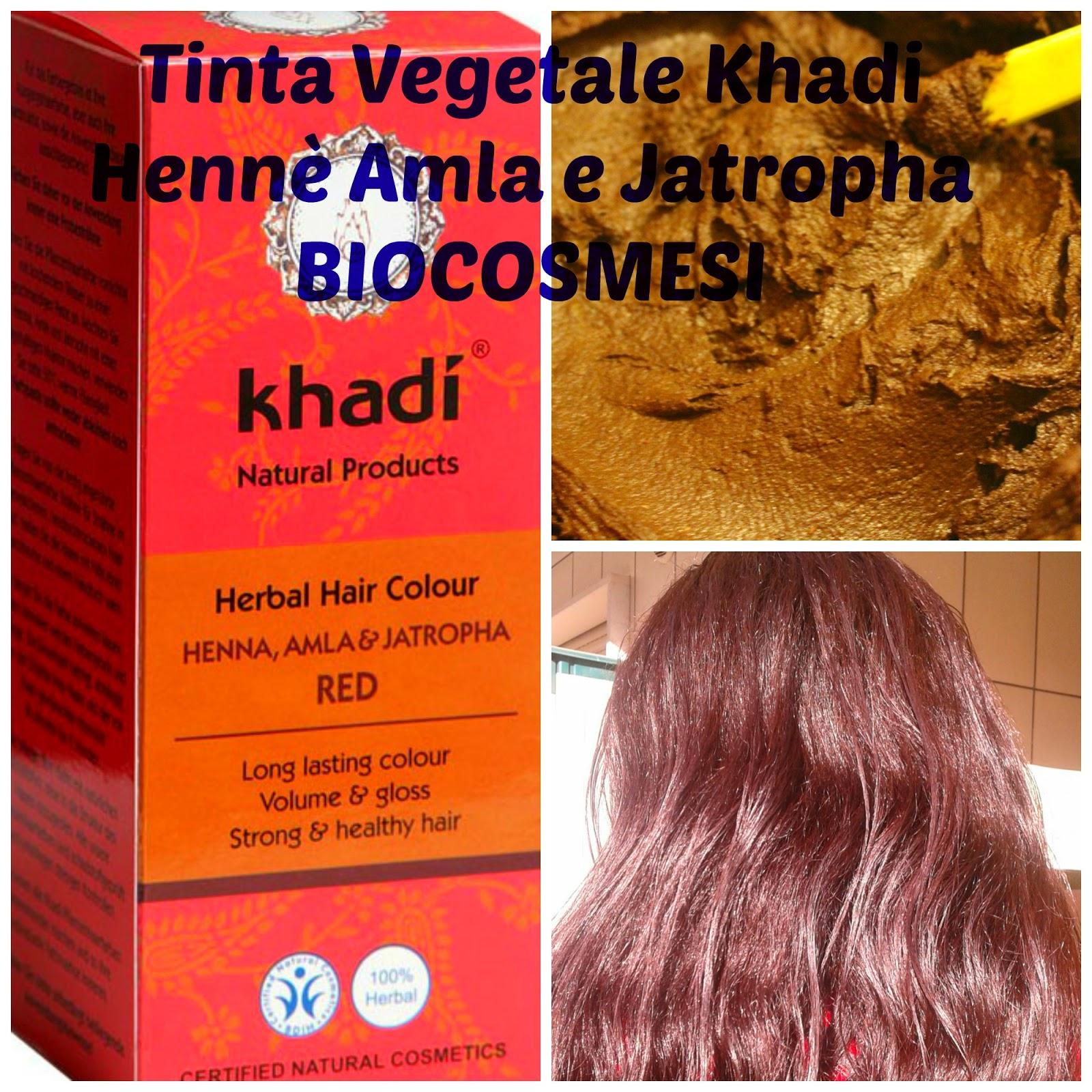 Tinta vegetale Khadi Hennè amla e jatropha ff5ba7adc59c