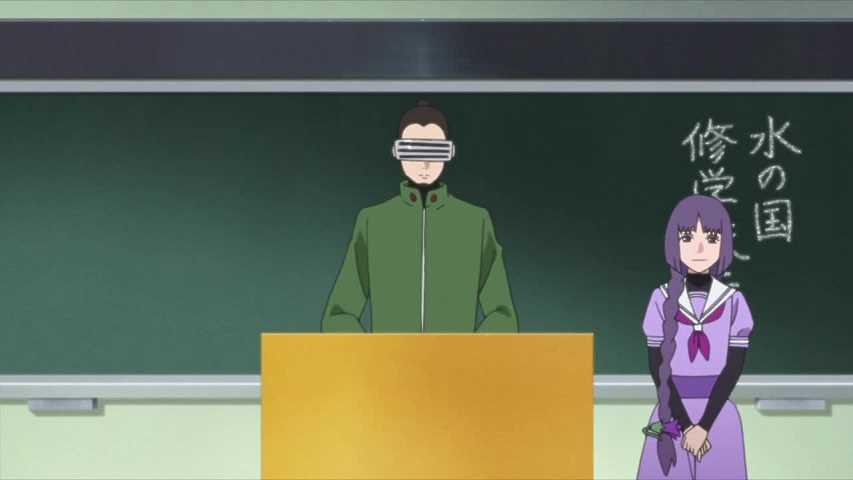 الحلقة الخامسة والعشرين 25 من أنمي بوروتو: ناروتو الجيل القادم Boruto: Naruto Next Generations مترجمة
