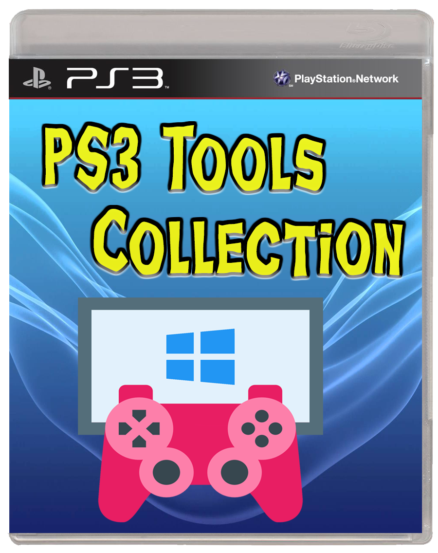 PC SOFTWARE PS3] PS3 Tools Collection v4 8 1 [Completo
