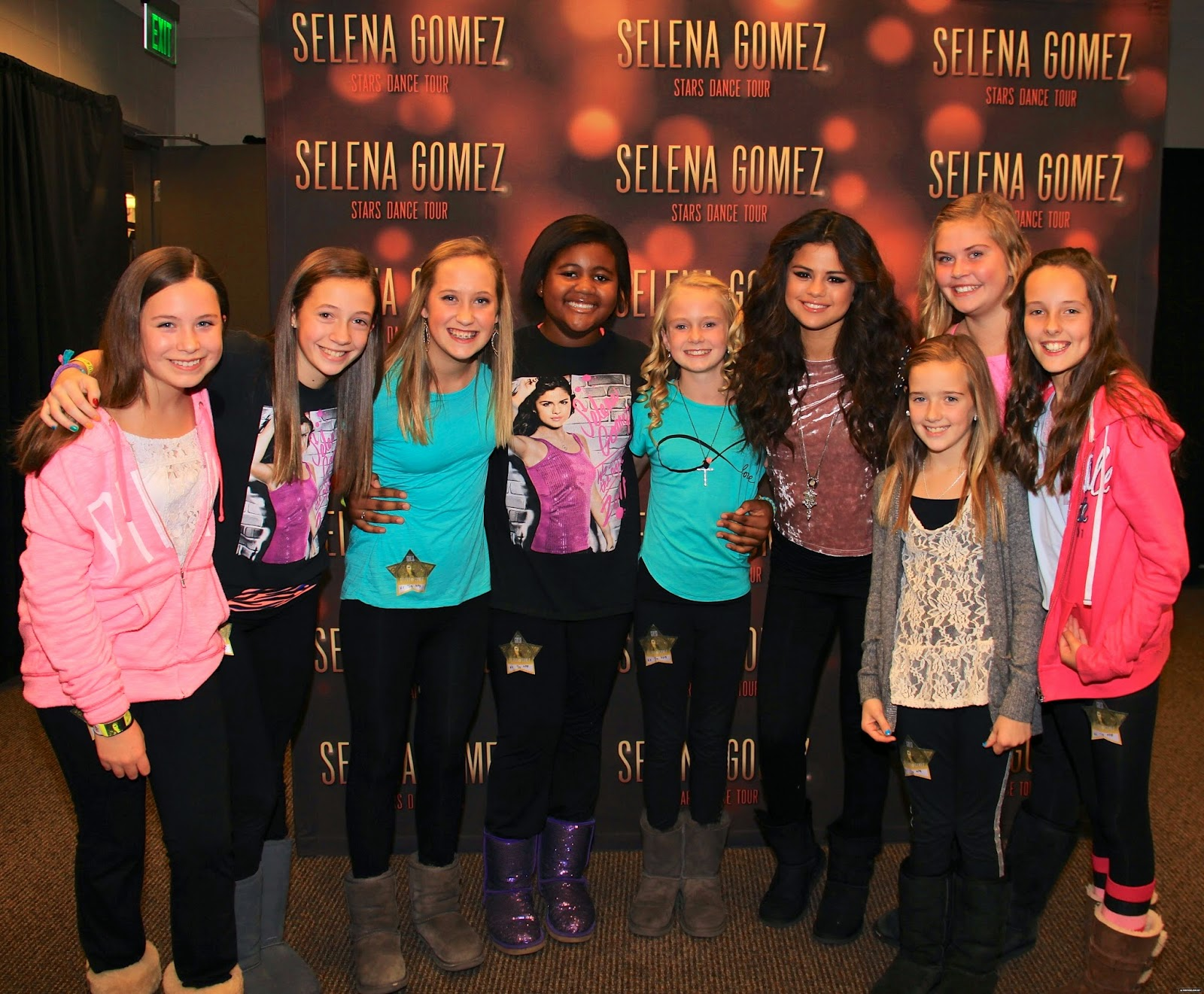 selena gomez meet and greet 2013 nba
