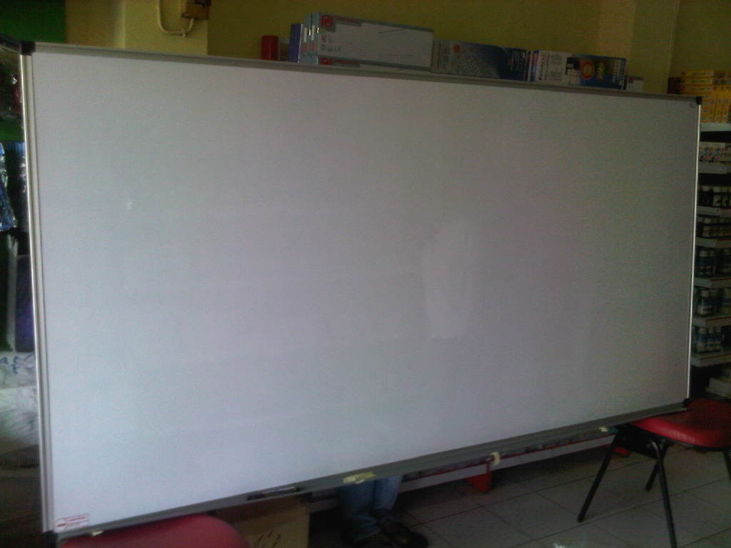 whiteboard gantung