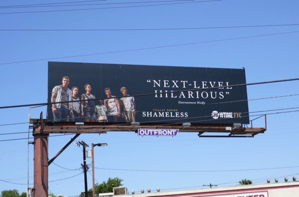 Shameless season 8 Emmy FYC billboard