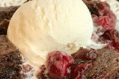 Black Forest Chocolate Cobbler