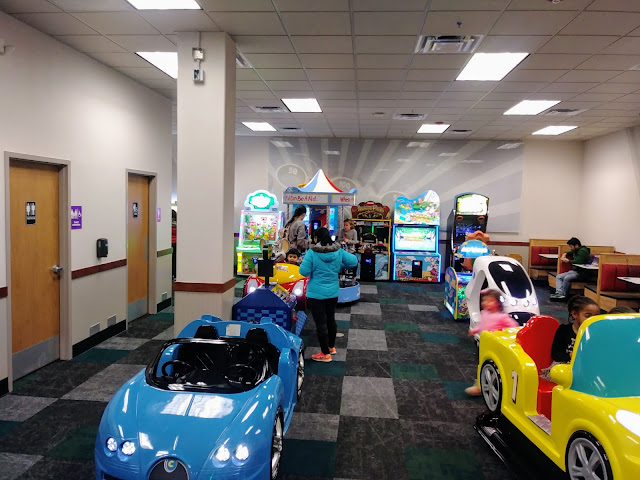 @ChuckECheese in North Olmsted has a fresh, new look after remodel.