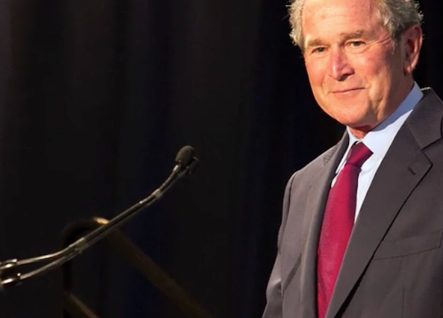 George W. Bush on immigrants: 'We ought to say thank you and welcome them'