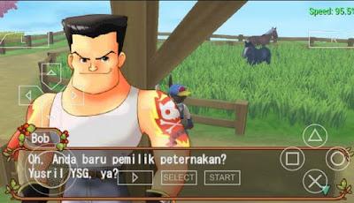 Download Harvest Moon Hero of Leaf Valley PSP ISO Bahasa Indonesia