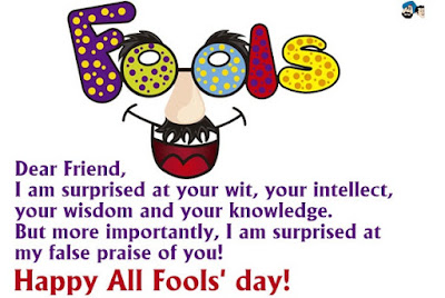April Fool Advance Wishes In English