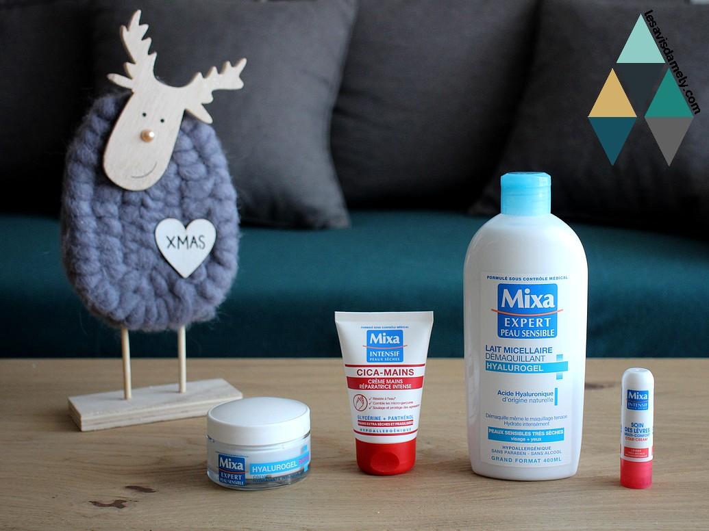 test et avis produits mixa peaux sensibles hyalurogel