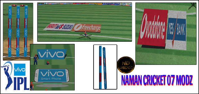 VIVO IPL 09 Graphics Set For Cricket 07