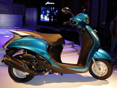 Yamaha Fascino side look image