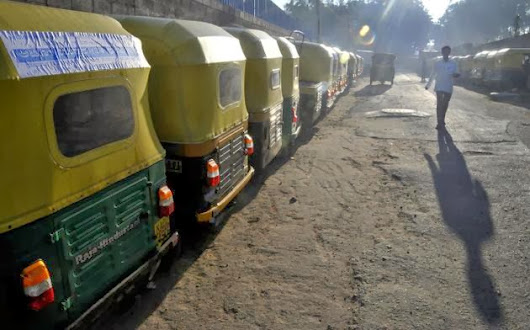 Auto Drivers' Strike Against Meter Drive Hits Life in Kochi