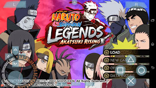 Download Kumpulan Game Naruto Shippuden PSP ISO Ultimate For Android