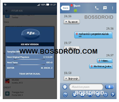 Download BBM MOd Light IOS V 2.12.0.9 apk