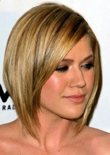 Medium Hairstyle For Any Face And Any Age