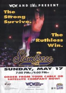 WCW Slamboree 1998 Review - EVENT POSTER