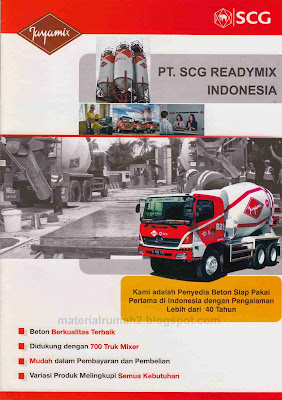 Beton Readymix : SCG READYMIX INDONESIA