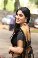 Poorna in Cute Backless Choli Saree Stunning Beauty at Avantika Movie platinum Disc Function ~  Exclusive 020.JPG