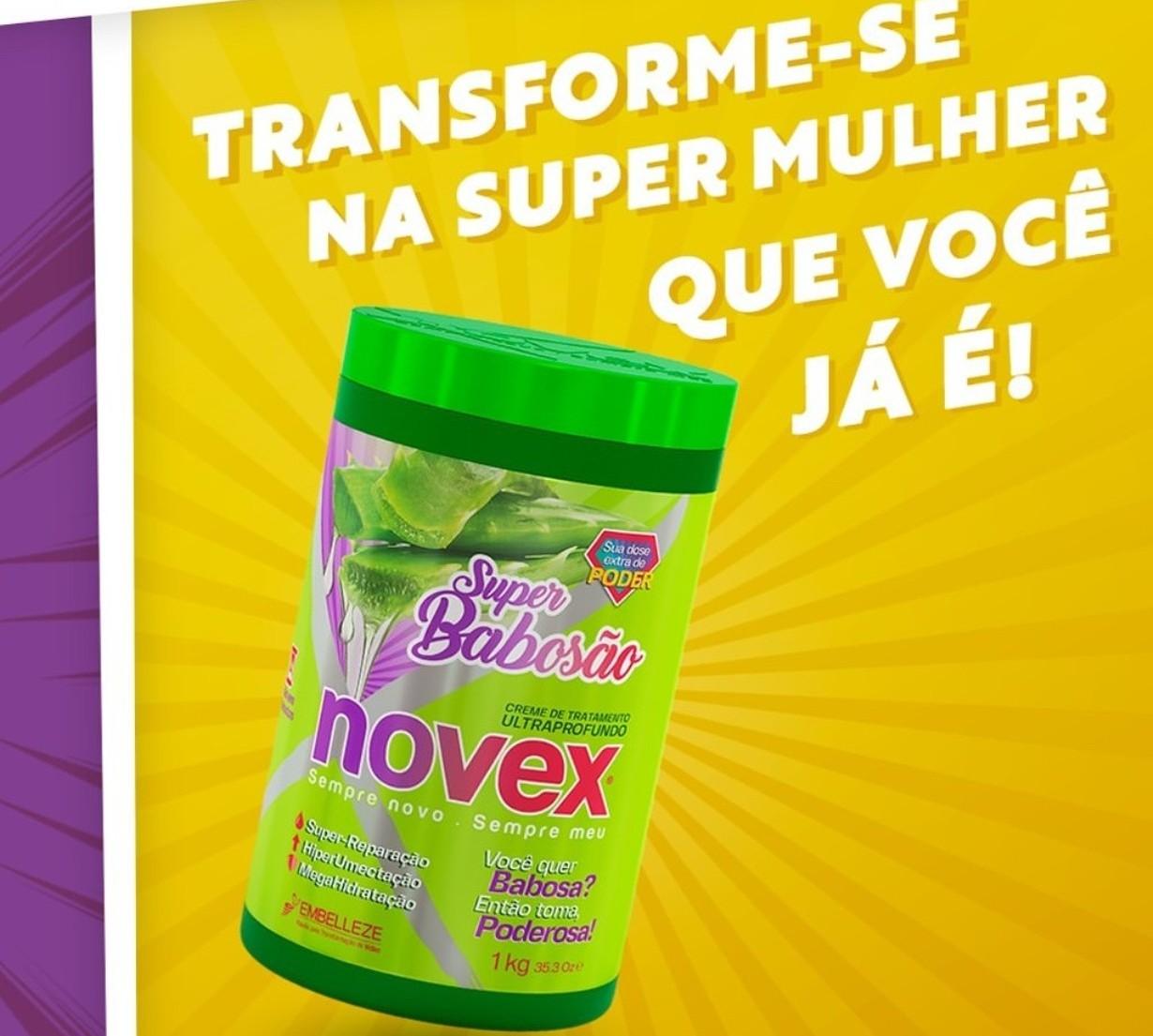 A Embelleze lançou o novo creme de tratamento Novex Super Babosão para te deixar ainda mais poderosa!