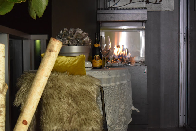 Outdoor patio heaters, Gas stoves, Gas fireplaces, Fire glass, By: JoFer Interiors