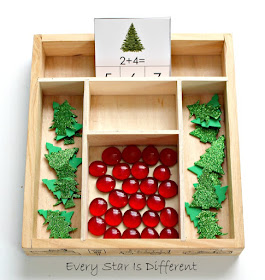 Christmas Tree Addition with Clip Cards