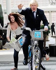 Boris the great cyclist