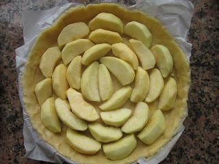pâte à tarte et pommes