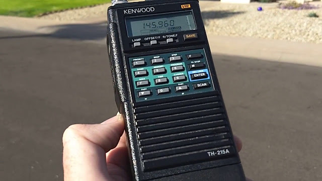 Kenwood/Trio TH-215A VHF