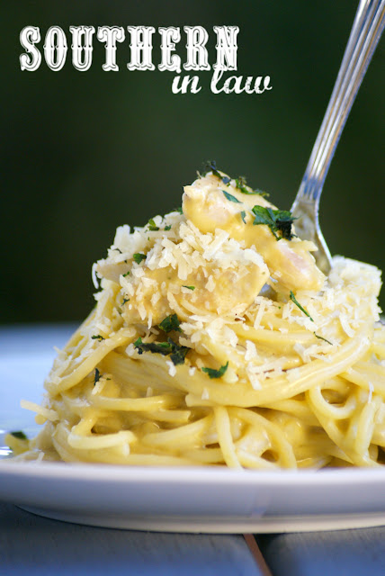 Healthy Creamy Asparagus Pasta Recipe - healthy, low fat, gluten free, high protein, clean eating recipe, vegetarian