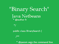 Contoh Program Java Netbeans Binary Search