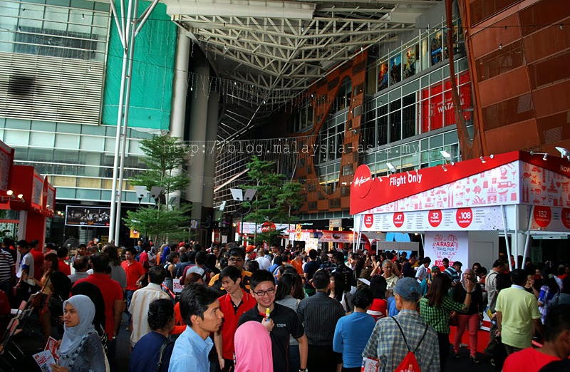 AirAsia Travel Fair 2014 Paradigm Mall